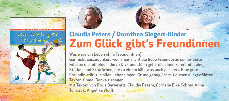 Claudia Peters: Zum Glück gibt's Freundinnen